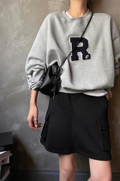 正韓KOREA貼布R大學T*3色