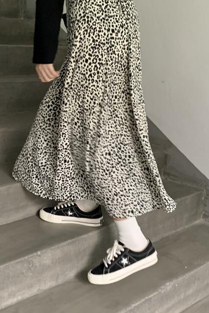 浪漫慵懶豹紋裙*2色