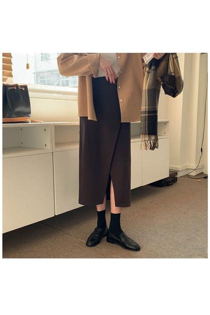 修飾顯瘦開岔裙*4色