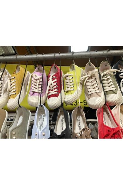 正韓餅乾帆布鞋*9色23-25