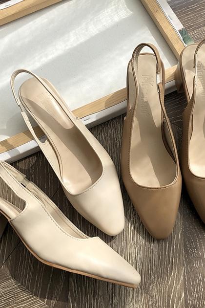 瑪麗珍粗跟繫帶涼鞋*2色36~39