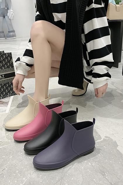 雨天也要時尚防滑防水雨靴*8色36-40