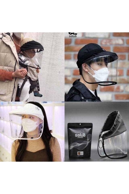KOREA韓國Salua防護面罩-黑