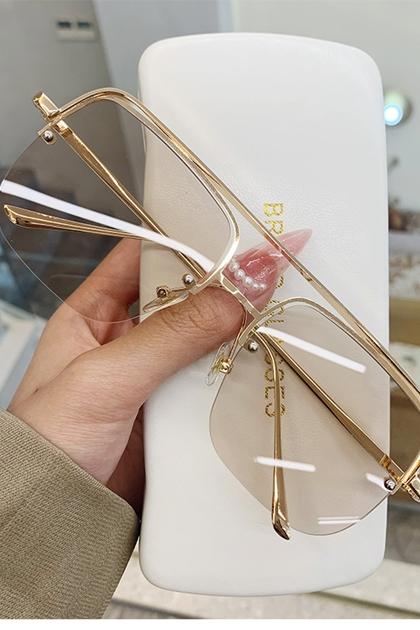 金屬方框大框百搭太陽眼鏡墨鏡*5色