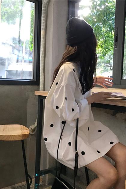 顯瘦澎澎袖洋裝*2色