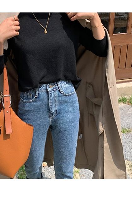 時尚簡約手提側背水桶包*2色